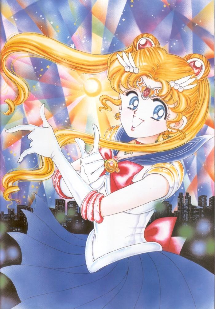 TAKEUCHI Naoko (武内 直子 ), Bishoujo Senshi Sailormoon /美少女戦士セーラームーン