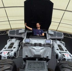 You can take this 33,000-pound robot for a virtual test drive, watch it dance to J-pop | Rocket ...