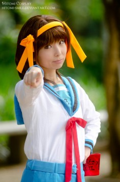 Haruhi Suzumiya cosplay 涼宮ハルヒ Your destiny was destermined long ago by Hitomi-Cosplay