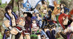 Fairy Tail フェアリーテイル – characters from the manga