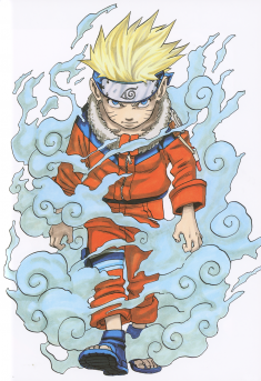 Naruto illustration