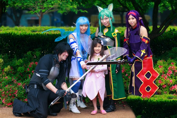 Sword Art Online cosplay from the United States