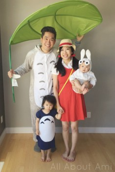 Animethon 2015: Totoro Family Cosplay | All About Ami