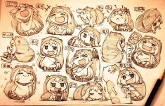 Himouto! Umaru-chan fan art 干物妹!うまるちゃん
