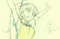 Animation drawing from Wagnaria!!
