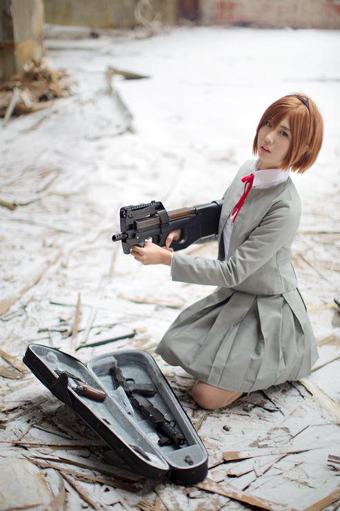 Gunslinger Girl cosplay (ガンスリンガー・ガール) ~ Henrietta (ヘンリエッタ)