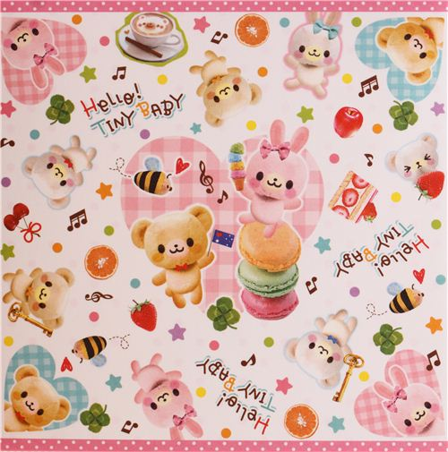 Hello Tiny Baby Note Pad by Q-Lia