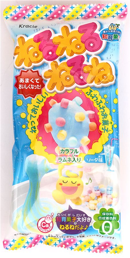 Popin' Cookin' set for making soda flavored candy paste by Kracie