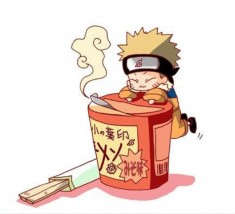 fan art of naruto & ramen