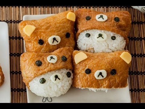 How To Make Rilakkuma Inarizushi – YouTube Video