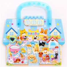 Kamio animal pet shop 3D stickers