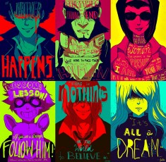 Awesome Pop art style