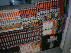 This is a pretty standard manga collection not huge by any means but still pretty big