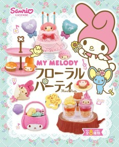 My Melody Flower Party Re-Ment miniature blind box