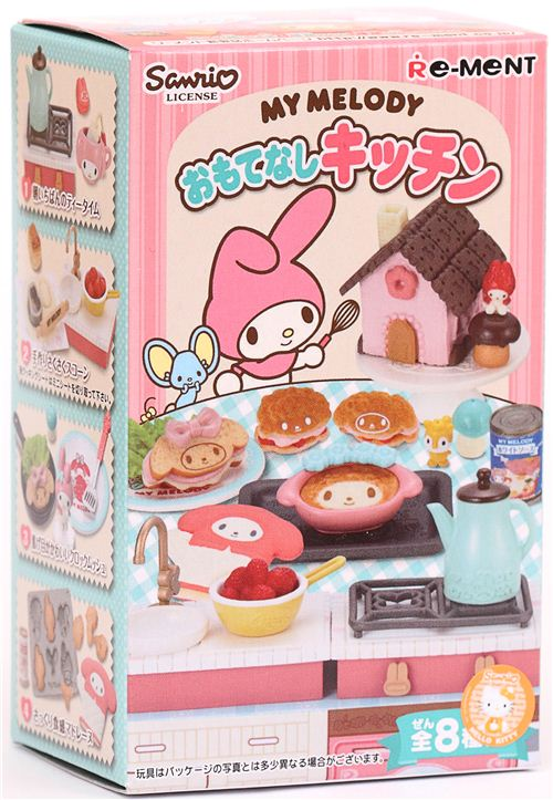 My Melody Re-Ment miniature blind box Hospitality Kitchen