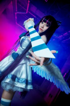 Panty & Stocking with Garterbelt cosplay: Model ストッキング:ミリヤ・カイン – Photo b ...