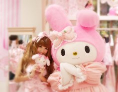 My Melody is a little girl rabbit!