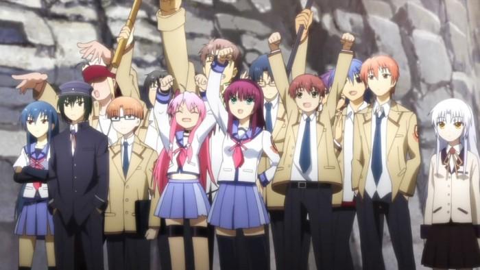 Angel Beats! characters エンジェルビーツ!