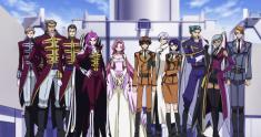 Characters from Code Geass コードギアス 反逆のルルーシュ