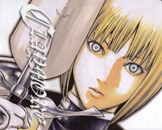 Claymore manga illustration by Norihiro Yagi 八木 教広 – クレイモア