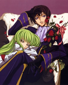 Code Geass R2 illustration scan