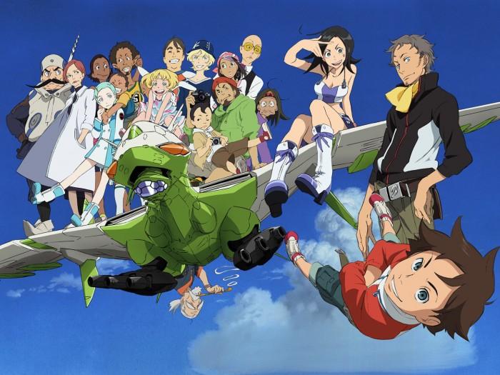 Eureka Seven characters 交響詩篇エウレカセブン
