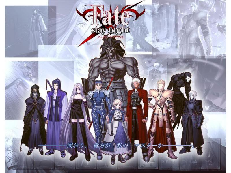 Fate/stay night characters フェイト/ステイナイト