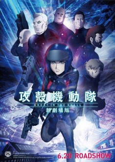 Ghost in the Shell – The Movie film poster 攻殻機動隊 新劇場版 2015 directed by Kazuya Nomura