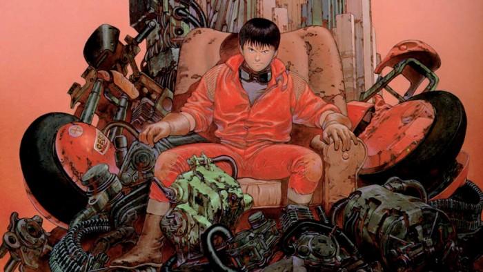 Illustration for the Akira manga