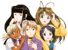 Love Hina ラブ ひな – characters from the anime series