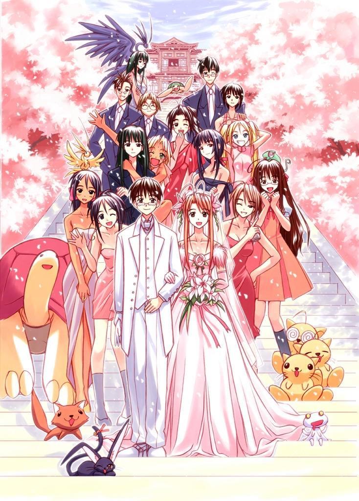 Love Hina ラブ ひな – characters from the manga