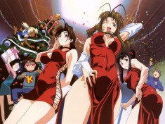 Love Hina ラブ ひな – christmas illustration