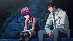 Lucy and Kouta from Elfen Lied エルフェンリート