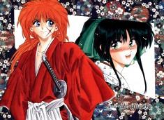 Rurouni Kenshin manga artwork るろうに剣心 -明治剣客浪漫譚