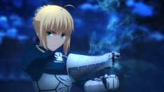 Saber from Fate/stay night – Unlimited Blade Works