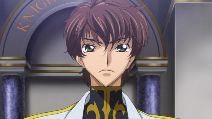 Suzaku Kururugi from Code Geass コードギアス 反逆のルルーシュ