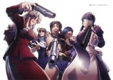 The Ladies of Black Lagoon – Rei Hiroe, Madhouse, Black Lagoon, Roberta, and Revy