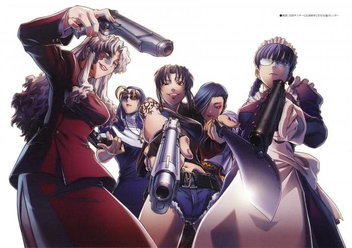 The Ladies of Black Lagoon – Rei Hiroe, Madhouse, Black Lagoon, Roberta, and Revy