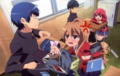 Toradora! illustration scan とらドラ!