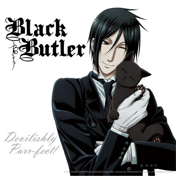 Black Butler Official, Do you share Sebastian's love of cats?  Well if…