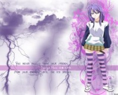 DeviantArt: More Like Mizore Shirayuki Wallpaper by weijunsyu