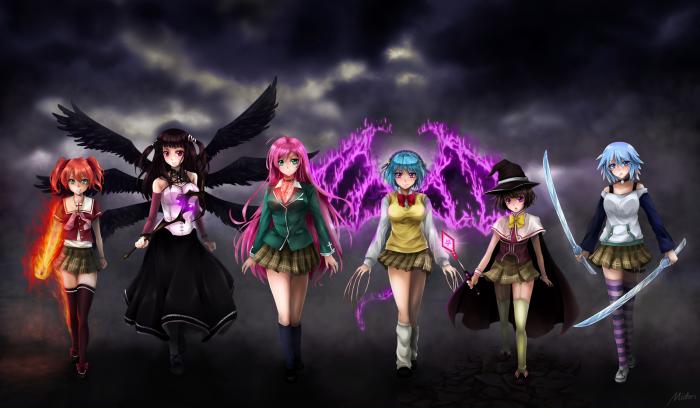Rosario Vampire: Brightest Darkness by mmidori31 on DeviantArt