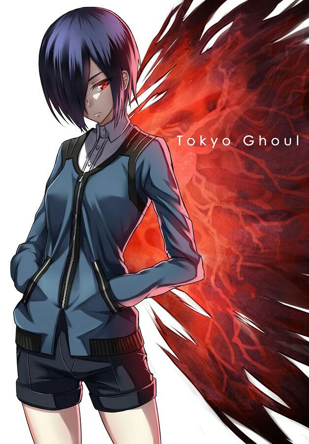 Touka Kirishima – Tokyo Ghoul