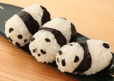 Panda Sushi newly out of the kitchen. Who would want to?