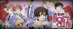 Ouran Highschool host club; honestly a great anime.