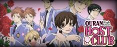 Ouran Highschool host club; honestly a great anime.