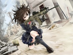 I believe its from Gunslinger Girls its my favorite anime