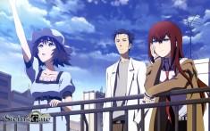 Steins;Gate, Mayuri, Rintarou and Kurisu