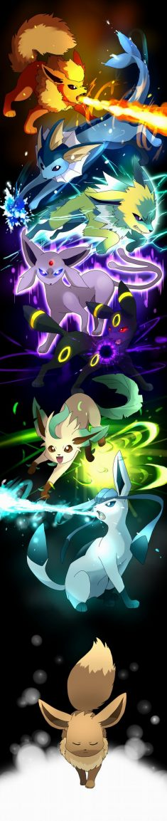 Eevee and Eeveelutions