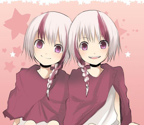Anime twins